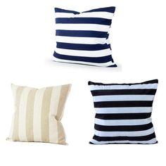 Stripes Decorative Pillow Cases
