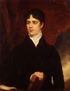Thomas Phillips (British, 1770-1845), John George Lambton, 1st Earl of Durham, 1820. Oil on canvas, 91.4 x 71.1 cm. National Portrait Gallery, London.
