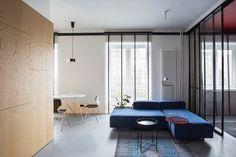 Minimalistyczne mieszkanie w Warszawie