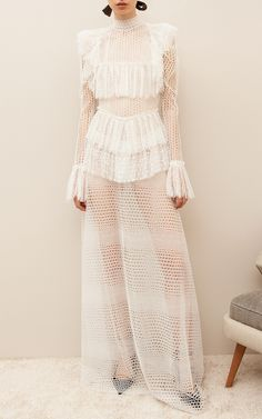 Rhea Lace Maxi Dress by Sandra Mansour
