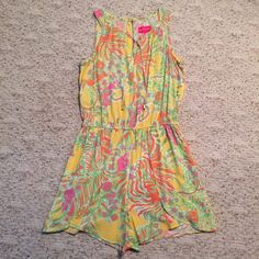 Lily Pulitzer for Target Romper Lily Pulitzer for Target. Romper with pockets worn a handful of times. Make an offer! Lilly Pulitzer for Target Pants Jumpsuits & Rompers