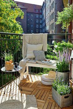 Perfect little balcony!