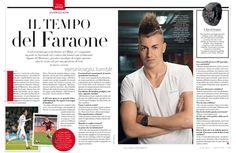 Stephan El Shaarawy for Vanity Fair via veronicagiu.tumblr.com