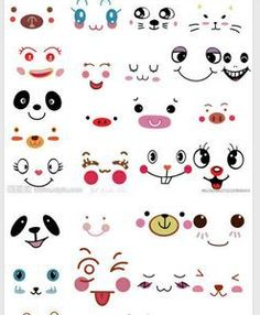 http://www.pinterest.com/craftcrazy22/cartoon-eyes-faces-ect/  This is a pinterest board with ideas for cartoon faces for a beginning scratch activity. . .