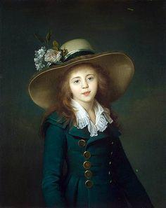 Jean-Louis Voille,    Portrait of Elisaveta Alexandrovna Demidov    1791-92