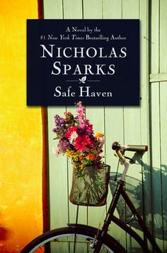 Safe Haven by Nicholas Sparks. All campuses (MCN, 1st floor on PEN)  PS3569 .P363 S34 2010.   When a mysterious young woman named Katie appears in the small North Carolina town of Southport, her sudden arrival raises questions about her past.