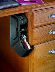Niceee! GunVault SpeedVault Biometric Gun Desk Safe