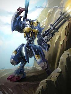 MetalGarurumon X