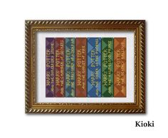 Cross stitch pattern Collection of Harry Potter by TinyNeedle