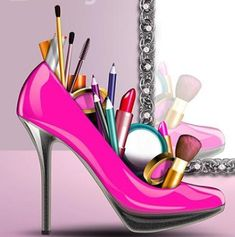 Makeup Tools, Stiletto Heels, Shoes, Fashion, Moda, Zapatos, Shoes Outlet, La Mode, Fasion