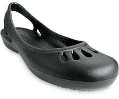 Crocs™ Malindi- The flat revolutionized, perfect for the exotic beaches of Malindi or the local pool. :: available from the official Crocs site.