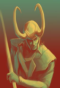 Asked for a surprise palette idea while streaming. Loki in 17 was chosen. (x)
