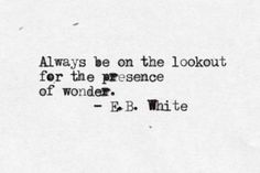 Can I claim EB White as a posthumous Autism Ally? Because I think he gets our diversity. Great Quotes, Quotes To Live By, Inspirational Quotes, Awesome Quotes, Motivational, Words Quotes, Wise Words, Sayings, Yoga Quotes