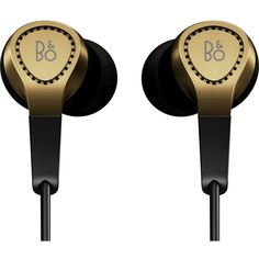 B&O PLAY H3 in-ear headphones ($210) ❤ liked on Polyvore featuring tech, accessories, electronics and headphones