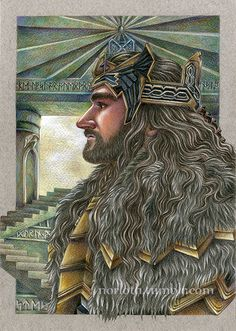 Thorin, by Norloth. Pencil. By way of Tumblr.