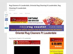 Rug Cleaners Expert in Ft Lauderdale