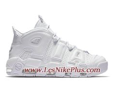 sports shoes 71720 8a6f5 Sneaker Nike Air More Uptempo ´96 Chaussures Nike 2018 Pas Cher Pour Homme  Blanc 921948
