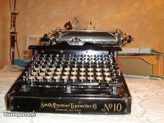 máq. escrever Smith Premier 10 1906 no Porto