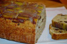 Delicia de bolo saudável e muito nutritivo.  Bolo Integral de Banana e Figo ~ Veganana