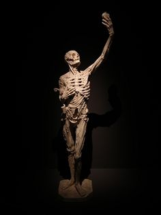 "At Saint-Etienne church, in Bar-le-Duc, France. This is a sculpture made by Ligier Richier, circa 1550, named ""Le Transi"" and representing René de Chalon's corpse, prince of Orange."
