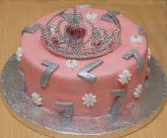 Seven Year Old Birthday Cake Birthday Cakes Pinterest