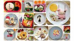 Resultado de imagen para cosas creativas con comida