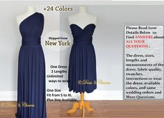 Hey, I found this really awesome Etsy listing at https://www.etsy.com/uk/listing/287506983/navy-bridesmaid-dress-infinity-dress
