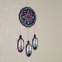 Dreamcatcher hama beads by pagey163