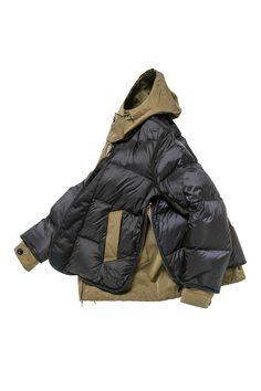 Fashion Details, Boho Fashion, Winter Fashion, Mens Fashion, Mens Down Jacket, Man Down, Inspiration Mode, Twill Pants, Denim Coat