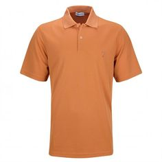 ccdf7a323e2c91 Golfino men's Kafetex® short sleeve golf polo of very high quality and soft  jersey with