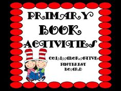 Welcome To Primary Book Activities! We hope you enjoy our creative collection of units, projects, links, reading lists and ideas for a variety of books teachers love to read & collect in their classroom libraries! Thanks for following!
