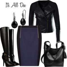 """Leather"" by ddteach on Polyvore"
