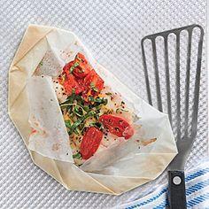 15-Minute Fish Dinners | Flounder en Papillote | MyRecipes.com