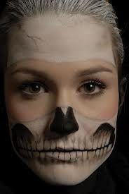 skeleton makeup for women - Google Search