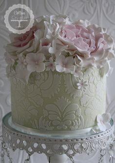 Damask Cake - Cotton and Crumbs  :: Britain, why must you be so far away! ::