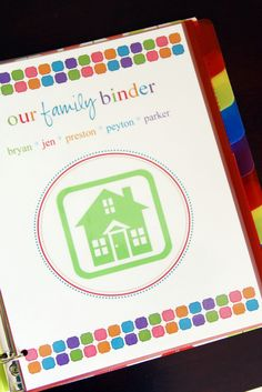 family binder