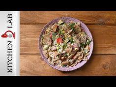 Τονοσαλάτα με ζυμαρικά ολικής αλέσεως με λαχανικά και dressing με μουστάρδα!