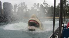 Universal Studios Jaws Ride I wish it was still there :( Jaws 2, Jaws Movie, Universal Studios, Universal City, Shark Bait, Boat Storage, Sounds Like, Back In The Day, Nerd Humor