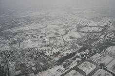 scene seen from the airplane KANAZAWA