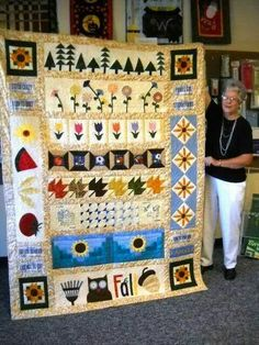 The Piper's Girls Row by Row Quilt Row By Row 2016, Row By Row Experience, Quilting Board, Quilting Ideas, Quilted Throw Blanket, Custom Quilts, Kona Cotton, Blanket Sizes, Dust Mites