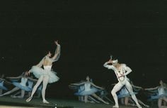 La Bayadere Nataliya Bondar-Shelest in the ballet 'La Bayadere'.
