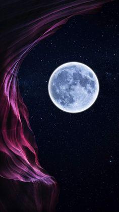 Moon Nature iPhone Wallpaper - iPhone Wallpapers