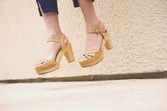 A Fashion Nerd in a pair of natural Agneta! Spring Summer Fashion, Summer 2015, Summer Days, Swedish Hasbeens, Scandinavian Fashion, International Fashion, Girls Best Friend, Summer Shoes, Girls Shoes