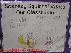 Social Studies Can Be So FUN--Scaredy Squirrel Unit! - Kreative in Life