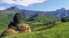 Drakensburg Amphitheatre, S. Africa