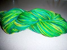 Hand-Dyeing Yarn with Easter Egg Dye- Tutorial {Suzy's Sitcom}