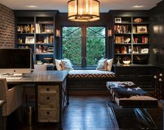 Mid-Sized Home Office Design Ideas, Remodels & Photos