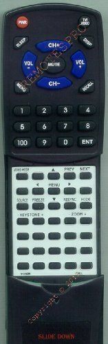 DELL Replacement Remote Control for 2100MP, 2300MP, 3102955, 3200MP, 7Y035 by Redi-Remote. $29.95. This is a custom built replacement remote made by Redi Remote for the DELL remote control number 3102955. *This is NOT an original  remote control. It is a custom replacement remote made by Redi-Remote*  This remote control is specifically designed to be compatible with the following models of DELL units:   2100MP, 2300MP, 3102955, 3200MP, 7Y035  *If you have any concerns with...