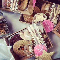 today @ the marketplace Dec 8, Vegan Sweets, Raw Vegan, Raw Food Recipes, Gingerbread Cookies, Bakery, Cheese, Desserts, Gourmet