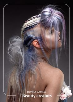 Style Ideas, Fantasy, Hair Styles, Beauty, Hair Plait Styles, Hair Makeup, Hairdos, Haircut Styles, Fantasy Books
